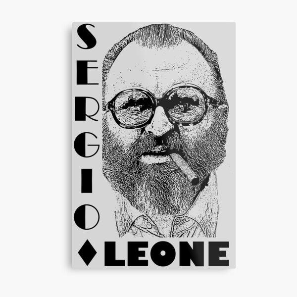 Sergio Leone movie director Metal Print