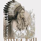 Der sitzende Büffel...Sitting Bull..1881 by Cronau by edsimoneit