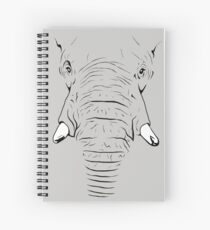 Elephant Skin Spiral Notebook