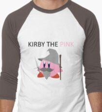 Kirby the Pink Men's Baseball ¾ T-Shirt