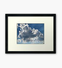 Sky Blue Framed Print