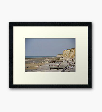 St Valery en Caux Framed Print