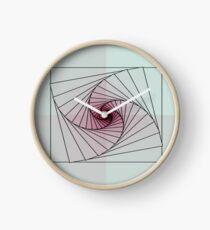 Artistic Spiral Clock
