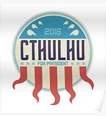 Cthulhu for President 2016 Poster