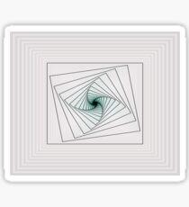 Simple Spiral Sticker