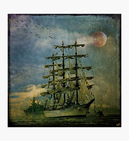 Tall Ship, New York Harbor, 1976 Photographic Print