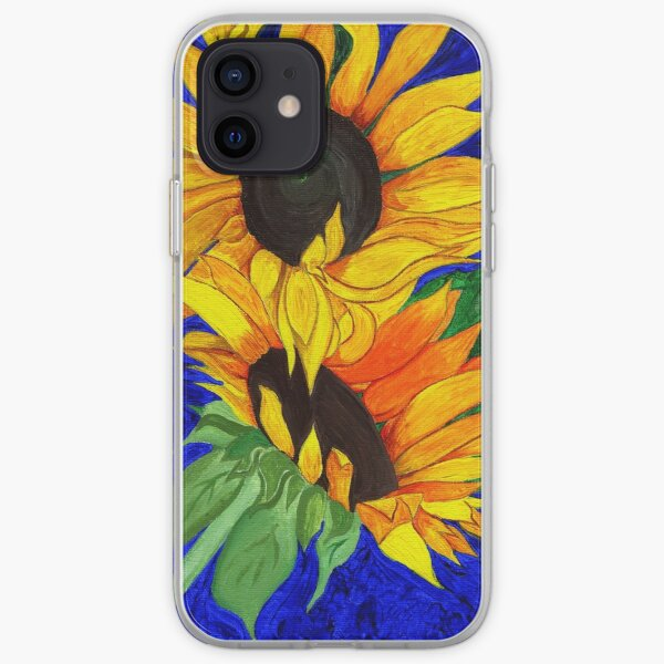 Sunflower Sister 2nd part iPhone Soft Case