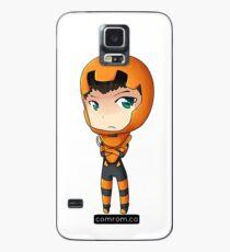 Ender Wiggen Chibi by KlockworkKat Case/Skin for Samsung Galaxy