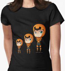 Ender Wiggen Chibi by KlockworkKat Women's Fitted T-Shirt