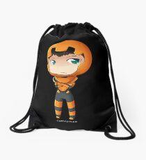 Ender Wiggen Chibi by KlockworkKat Drawstring Bag