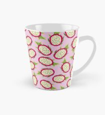 Dragon fruit on pink background Tall Mug
