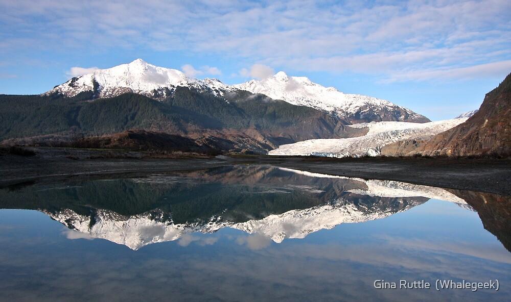 Mendenhall Glacier by Gina Ruttle  (Whalegeek)