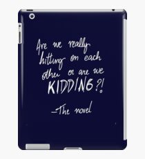 The novel iPad Case/Skin