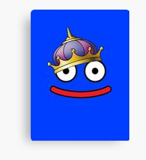 DragonQuest King Slime Canvas Print