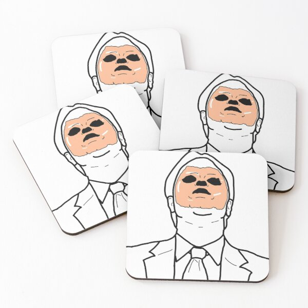 CPR Dwight Coasters (Set of 4)