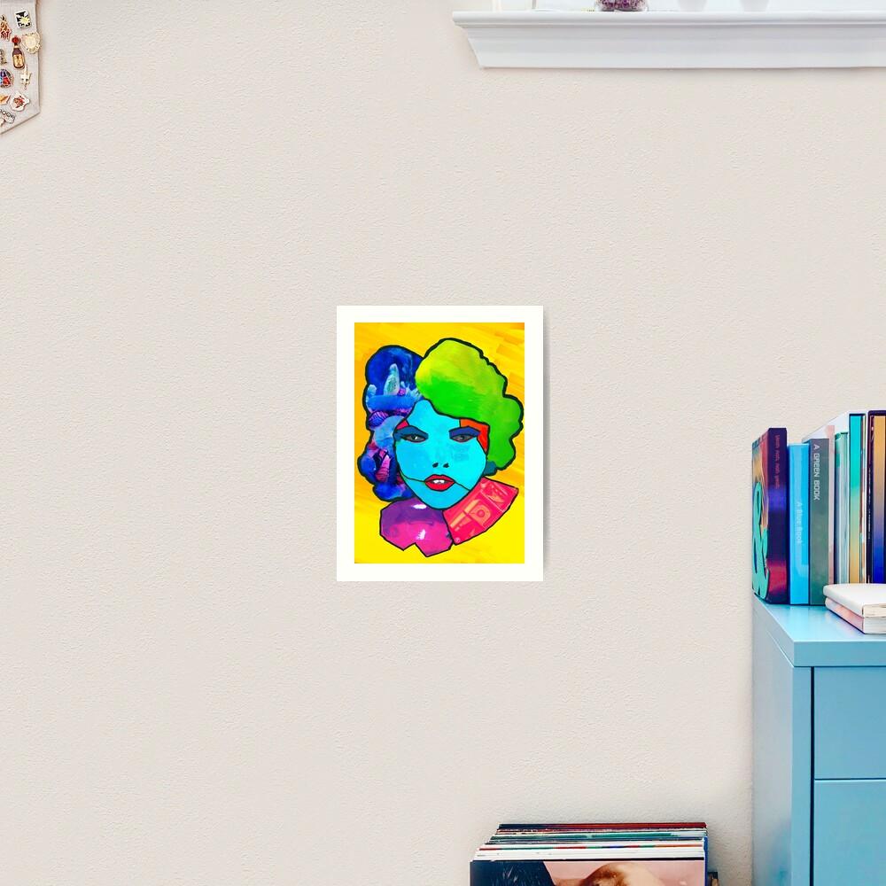 POP colore Art Print