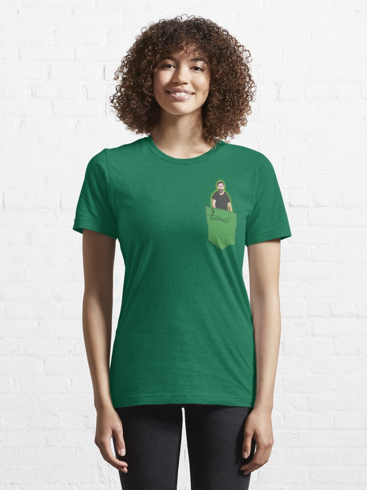 Alternate view of JUST DO IT - Shia Labeouf Pocket Companion Essential T-Shirt