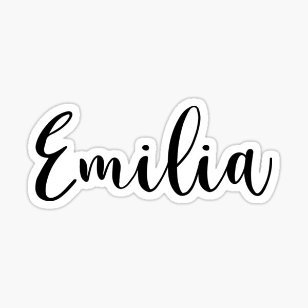 emilia name gifts merchandise redbubble