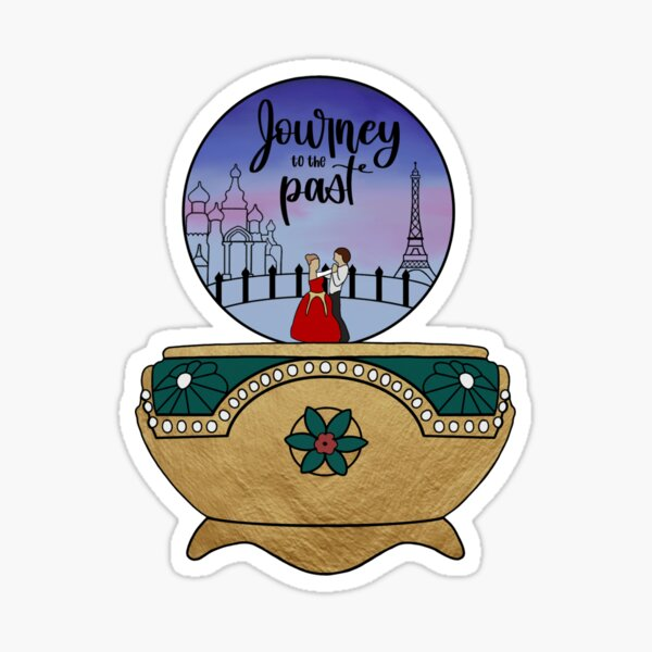 Journey to the Past Glossy Sticker