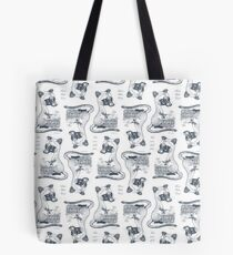 Eat Some Fresh Fruit - Asian Palm Civet - Pink Tote Bag