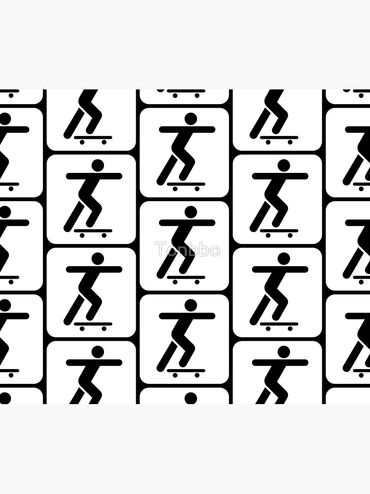 Skateboarder Sign by Tonbbo