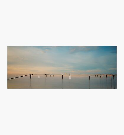 The Leaning Posts Photographic Print