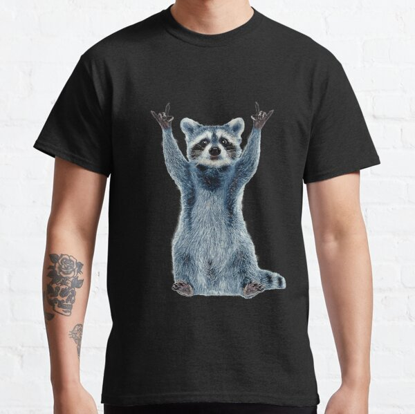 Waschbär-Hemd-Kühles Natur-Waschbär-T-Stück Netter Waschbär-Klassiker Classic T-Shirt