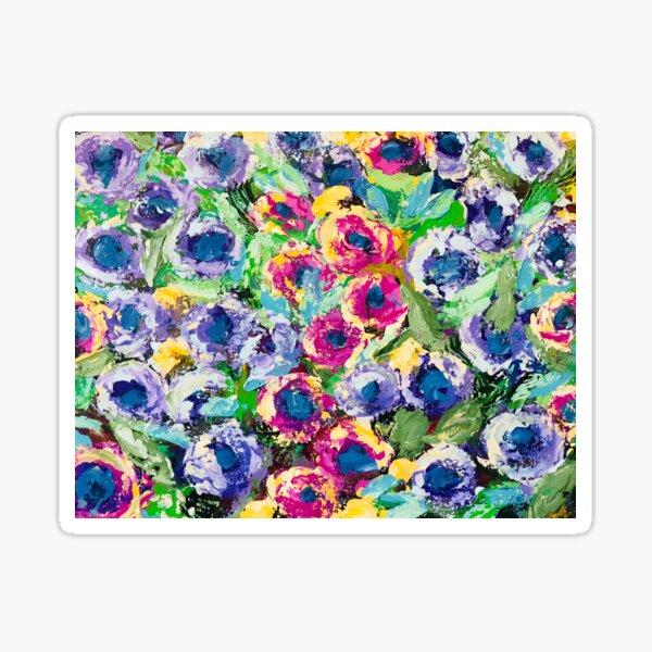 Morning Dew, Flowers Sticker