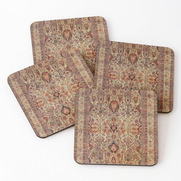 Lavar Kirman Southeast Persian Rug Print Coasters (Set of 4)