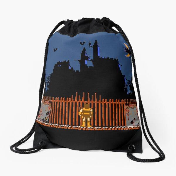 Castlevania - Dracula's Castle Drawstring Bag