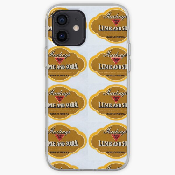 Mackay's Lime and Soda State Library of Western Australia iPhone Soft Case