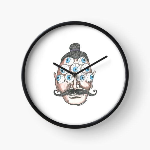 Blue Eyes Clock