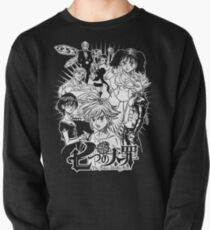 Deadly warrior Pullover Sweatshirt