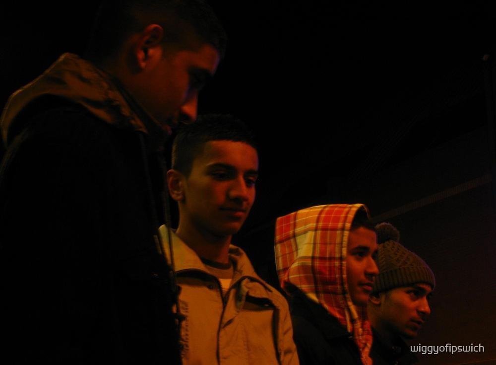 Johir, Rokib, Razzak and Amran by wiggyofipswich