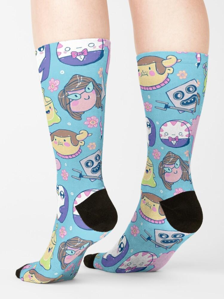 Alternate view of Adventure Time Friends 2 Socks