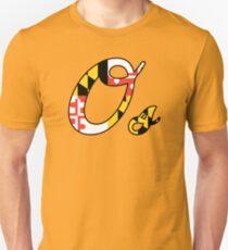 """""""O"""" Maryland Flag Unisex T-Shirt"""