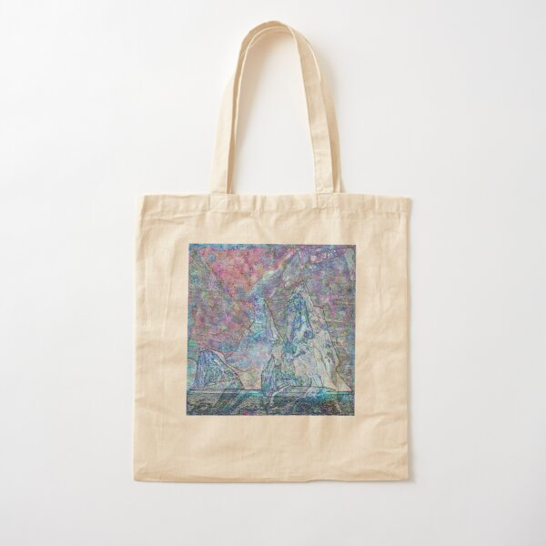 Hyperborean Landscape 8 Cotton Tote Bag