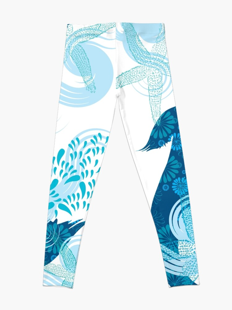 Alternate view of Mermaid Starfish Underwater Leggings
