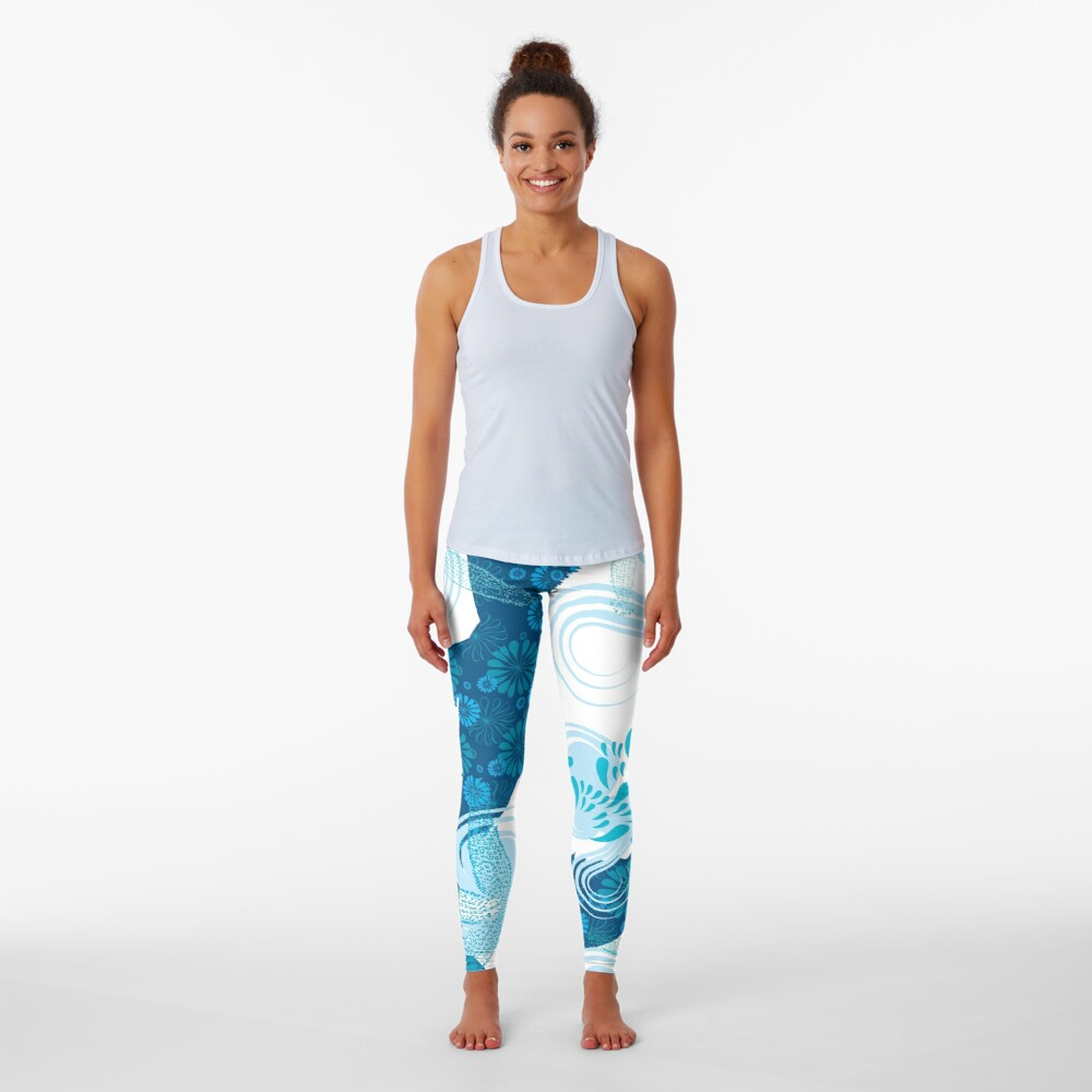 Mermaid Starfish Underwater Leggings