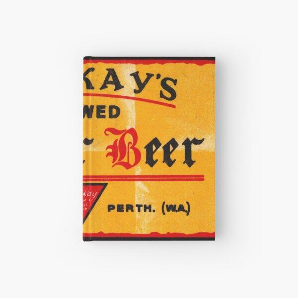 Mackay's Brewed Ginger Beer State Library of Western Australia Hardcover Journal