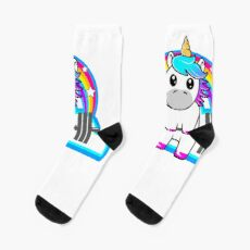 Unicorn Strong  Socks