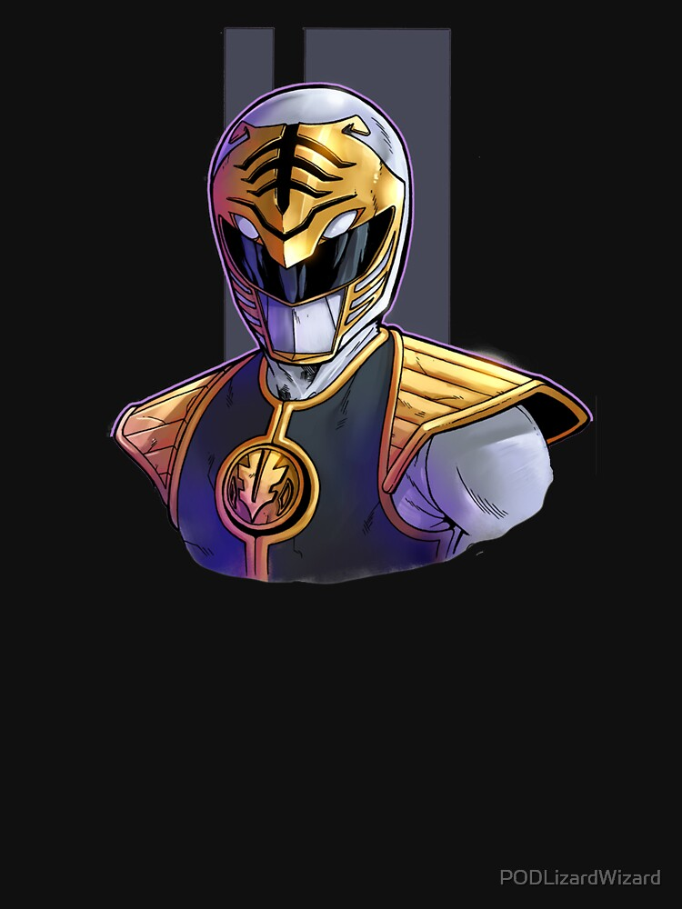 Tommy The White Ranger by PODLizardWizard