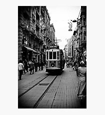 Old tram of Istiklal Caddesi Photographic Print