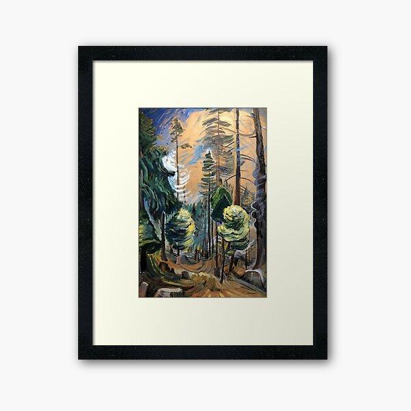 Emily Carr - Old Forest Framed Art Print