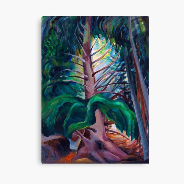 Emily Carr - Old Timer Canvas Print