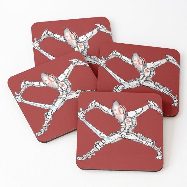 Zero Assassin Sketch Coasters (Set of 4)