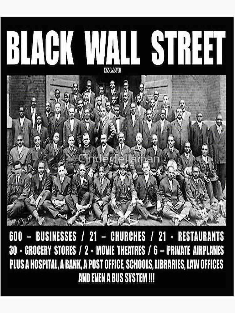 Black Wall Street by Cinderfellaman