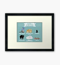 Cats As Coffee Framed Print