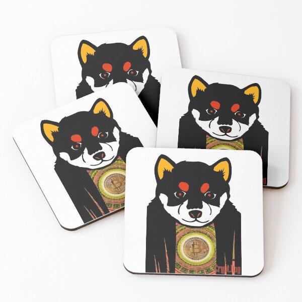 Crypt.Dog Promo Coasters (Set of 4)