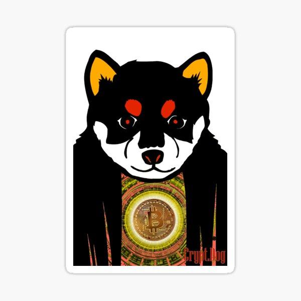 Crypt.Dog Promo Sticker